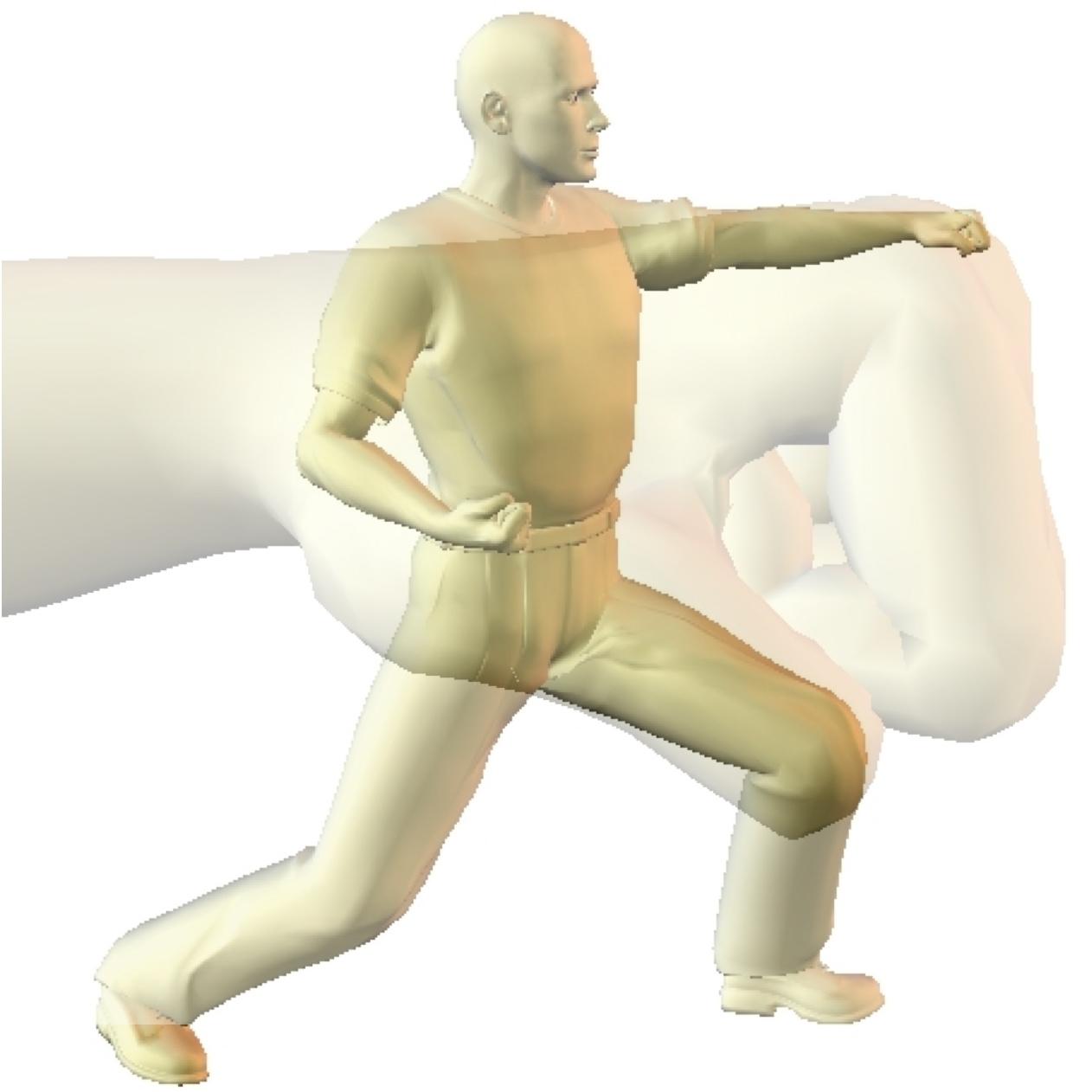 image Human punching bag for domina jade indica